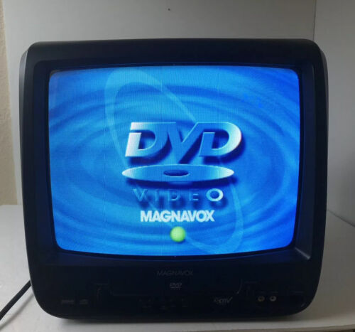 Magnavox TV/DVD Combo Model CD130MW9 Tested - Universal Remote- Retro gaming