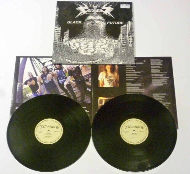 "Vektor ""Black Future"" Black 2x12"" Vinyl - NEW"