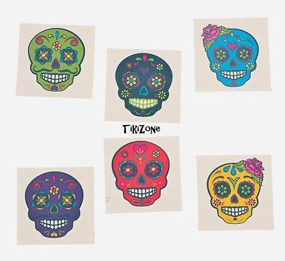 72 Day of the Dead Sugar Skull Tattoos, Dia de Los Muertos party, Halloween  - Dia De Los Muertos Decorations