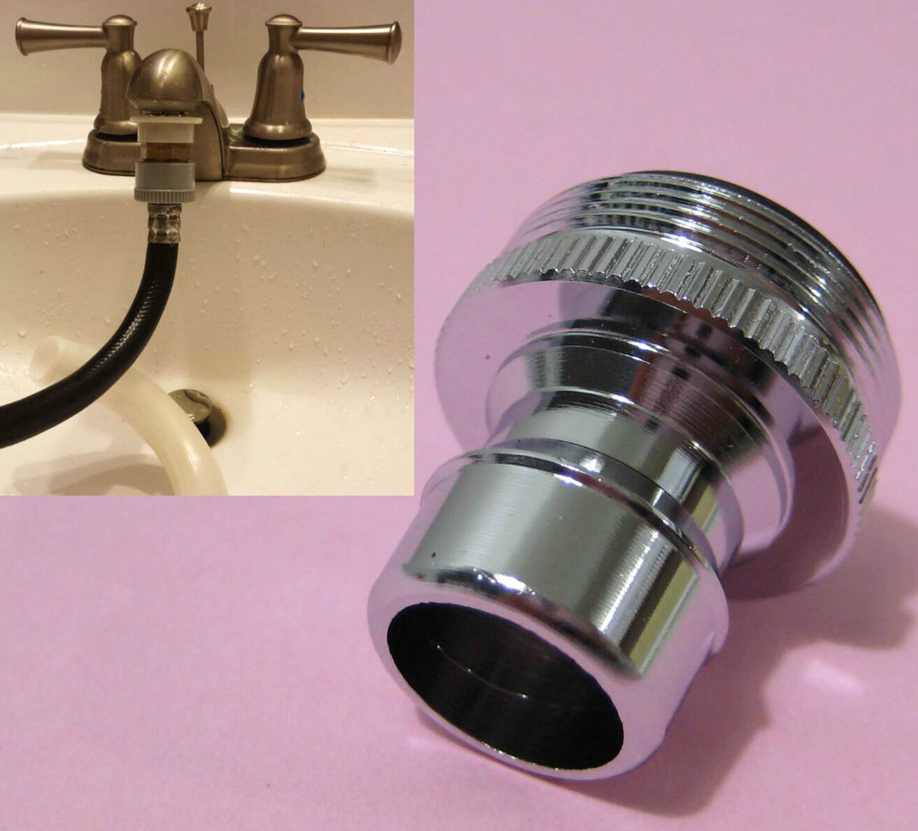 Kitchen Faucet Hose Adapter Dishwasher Faucet Adapter Ebay
