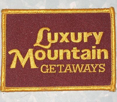 Luxury Mountain Getaways Patch - New Hampshire