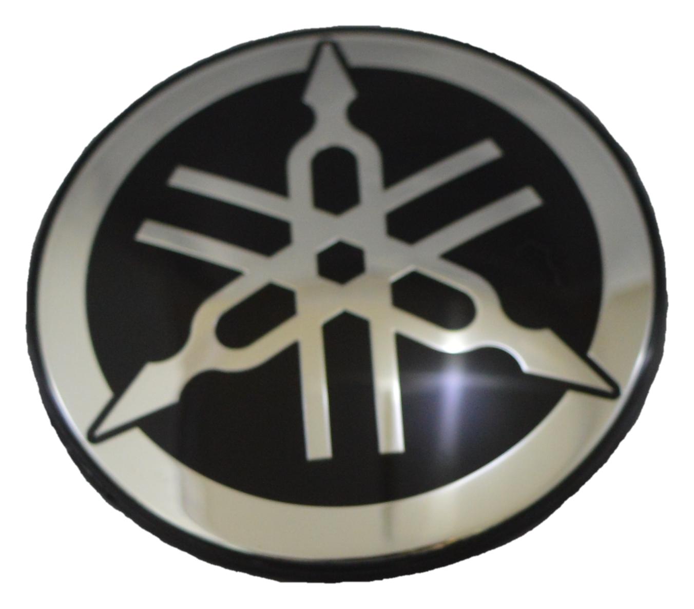 New OEM Yamaha Wave Runner PWC Round Logo Emblem Tuning Fork