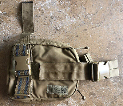 USMC Corpsman Assault System CAS Medical Thigh Rig Modular Pouch Coyote Brown Modular System Pouch