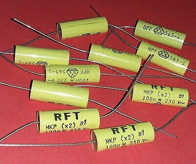 3 Stück RFT MKP Kondensator 25 µF 250V Anlaufkondensator Motorkondensator 250 V