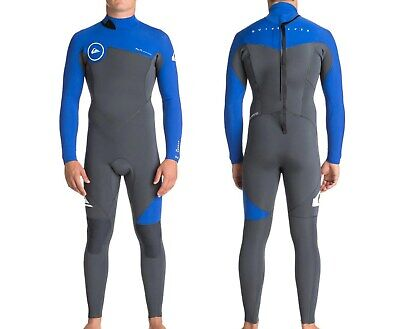 QUIKSILVER Men s 3 2 SYNCRO Back-Zip Wetsuit - XKPW - Size Small - NWT 626be31c3