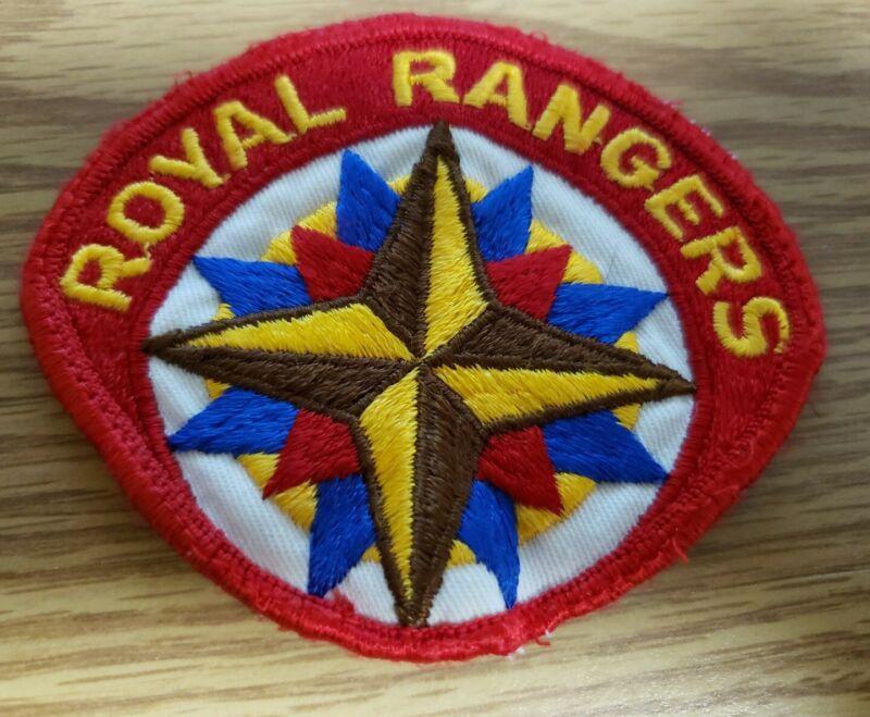 Vintage Royal Rangers Uniform Patch