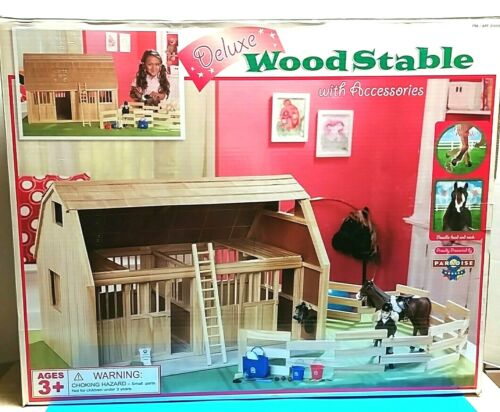 Toy Horse Wood Stable Barn Farm Doll House Accessories Large Used Local Pick-up