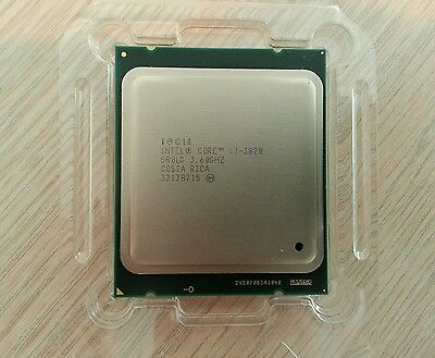 INTEL CORE i7-3820 PROCESSOR 3.60GHZ 10Mb LGA 2011 SR0LD CPU
