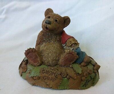 Gnome Gnap Tom Clark Tim Wolfe Signed 1997 Cairn Studios