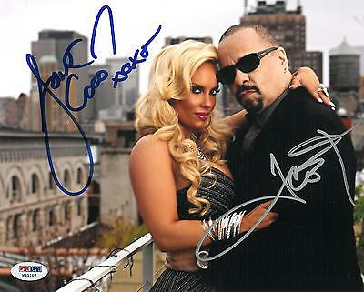 Coco Ice - Coco Austin & Ice T Signed Authentic Autographed 8x10 Photo (PSA/DNA) #W35107