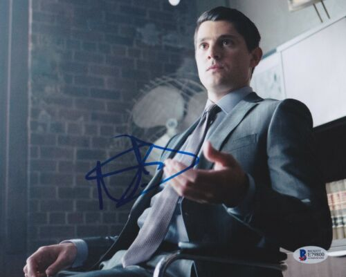 NICK D'AGOSTO SIGNED 8X10 PHOTO GOTHAM BECKETT BAS AUTOGRAPH AUTO COA A