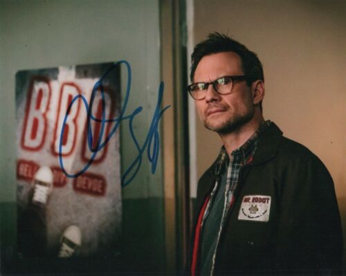 Christian Slater Mr Robot Autographed Signed 8x10 Photo COA #17