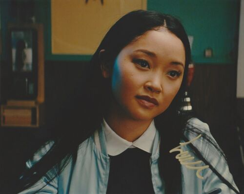 Lana Condor To All the Boys Autographed Signed 8x10 Photo COA BA42