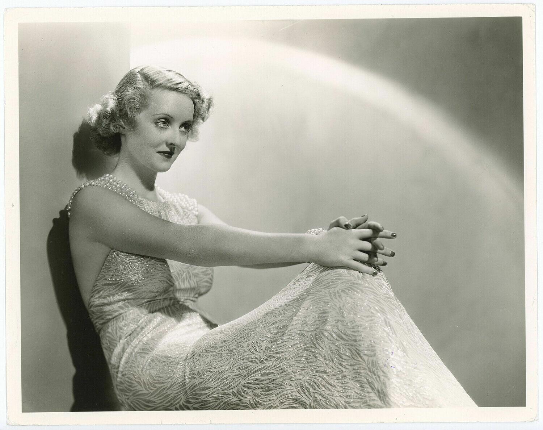 Bette Davis Publicity Photo  - $6.00