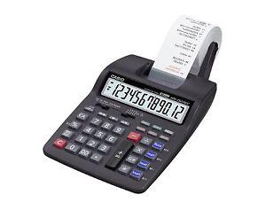 Casio HR 150 TEC druckender Tischrechner + 5 Papierrollen