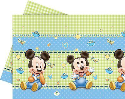 Disney Baby Mickey Mouse Party Tischdecke Kindergeburtstag Baby Shower