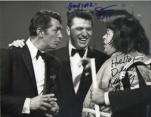 marty allen steve rossi signed dean martin show 1960s