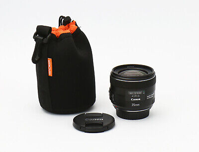 Canon EF 35mm 35 mm f/2 f2.0 IS USM Lens - Gently used - Sharp Lens