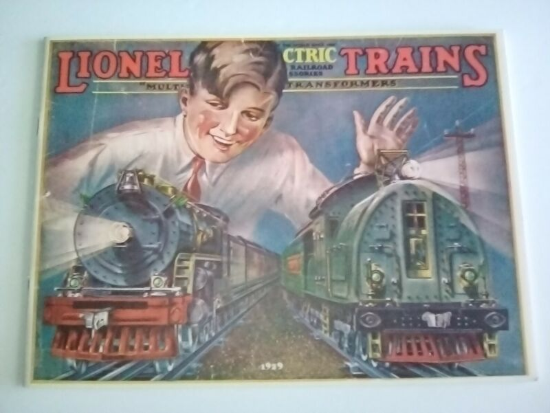 LIONEL 1929 REPRODUCTION CATALOG EXCELLENT Cond. Black and White
