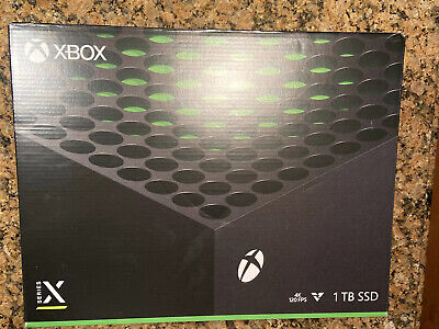 Xbox Series X 1TB Console Microsoft NEW IN HAND FREE SHIP SHIPS IMMEDIATELY