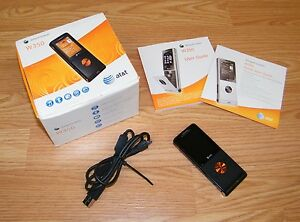 Sony Ericsson W350a - Black (AT&T) GSM 14MB Cellular Flip Phone Only **READ**