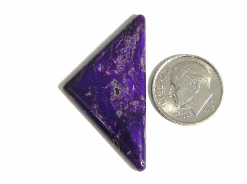 Natural Premium Purple Sugilite Gemstone Gem Stone Cabochon Cab s005