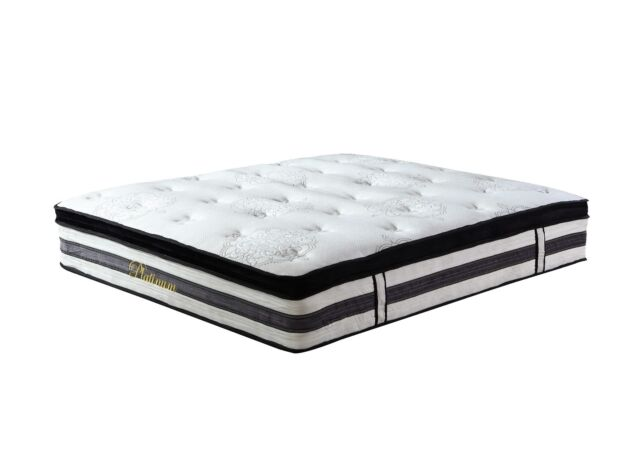15 inch hybrid innerspring and memory foam mattress with pillow top queen - Ortho Mattress
