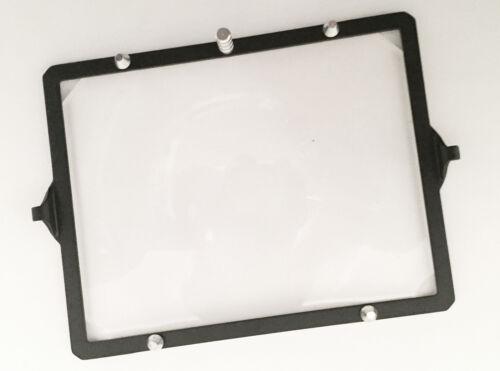 "Sinar 4x5"" Fresnel Screen & Frame Fairly Nice!!"