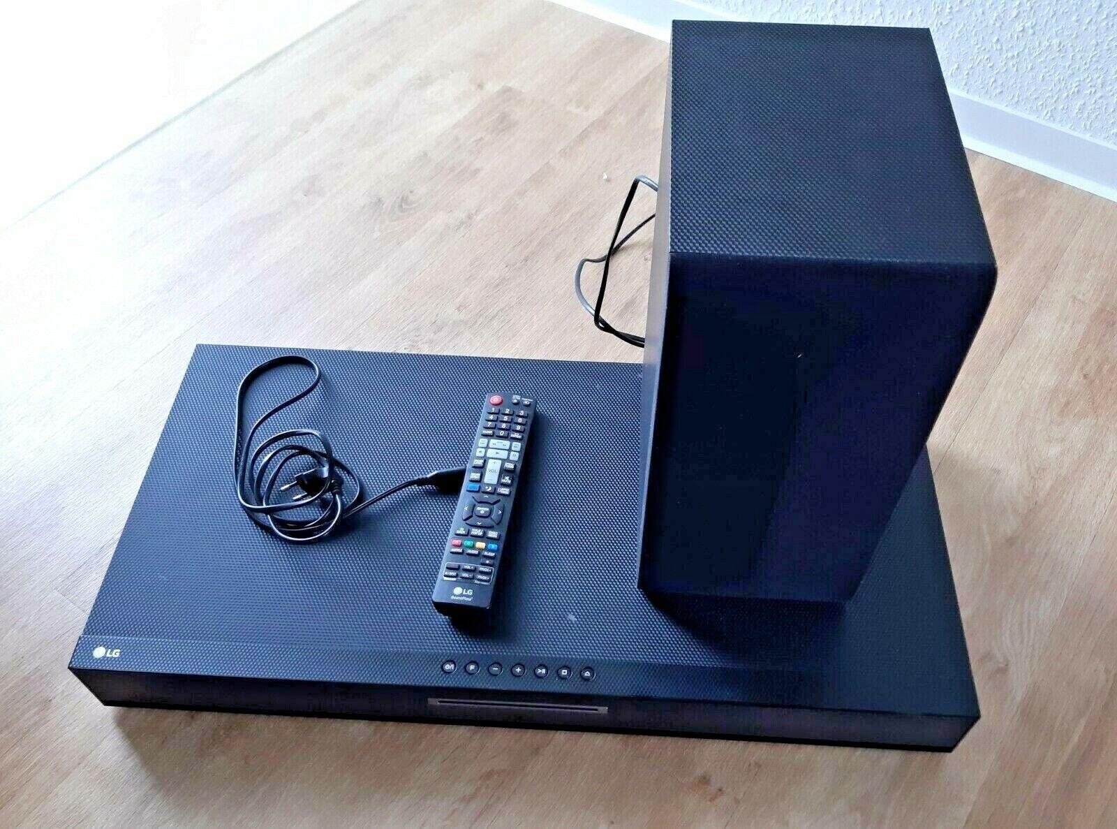 LG Soundplate LAD650W 2.1 Heimkino System - Blu-Ray Player, WiFi, Bluetooth