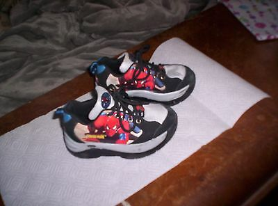 acada159a74e BOYS STREET FLYERS SKATES SHOES SPIDER MAN SPIDERMAN 12