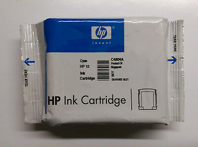 HP original 12 cyan C4804A Business InkJet 3000 N DTN --------------------- o.V. - 12 Cyan Inkjet