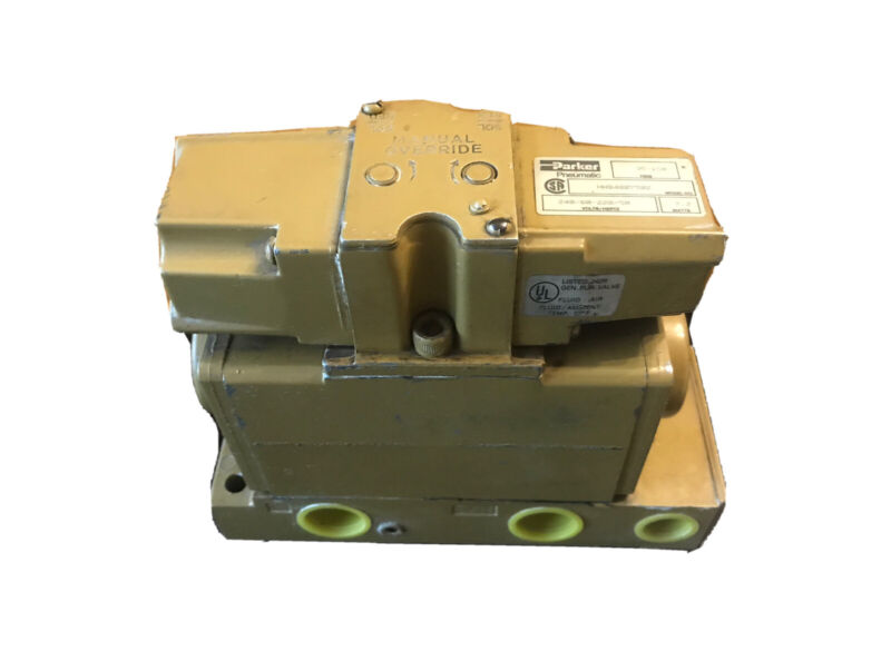 (New) Parker Pneumatic Solenoid Valve HHB4007502 HHB 4007502