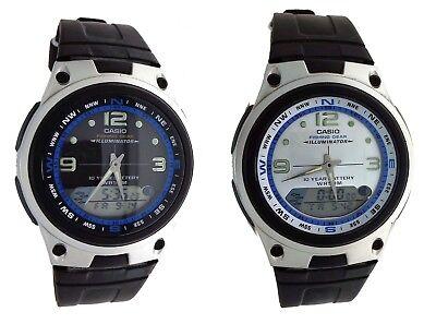 Gear Chronograph Watch - NEW Casio AW82 Men's Fishing Gear Analog Digital Alarm Chronograph Watch 50M WR