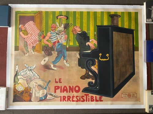 LE PIANO IRRESTIBLE (1907) One-Reel Silent Film Comedy DIRECTED BY ALICE GUY