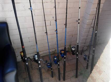 Sell fishing; fishing Rod with a full set Queens Park Canning Area Preview
