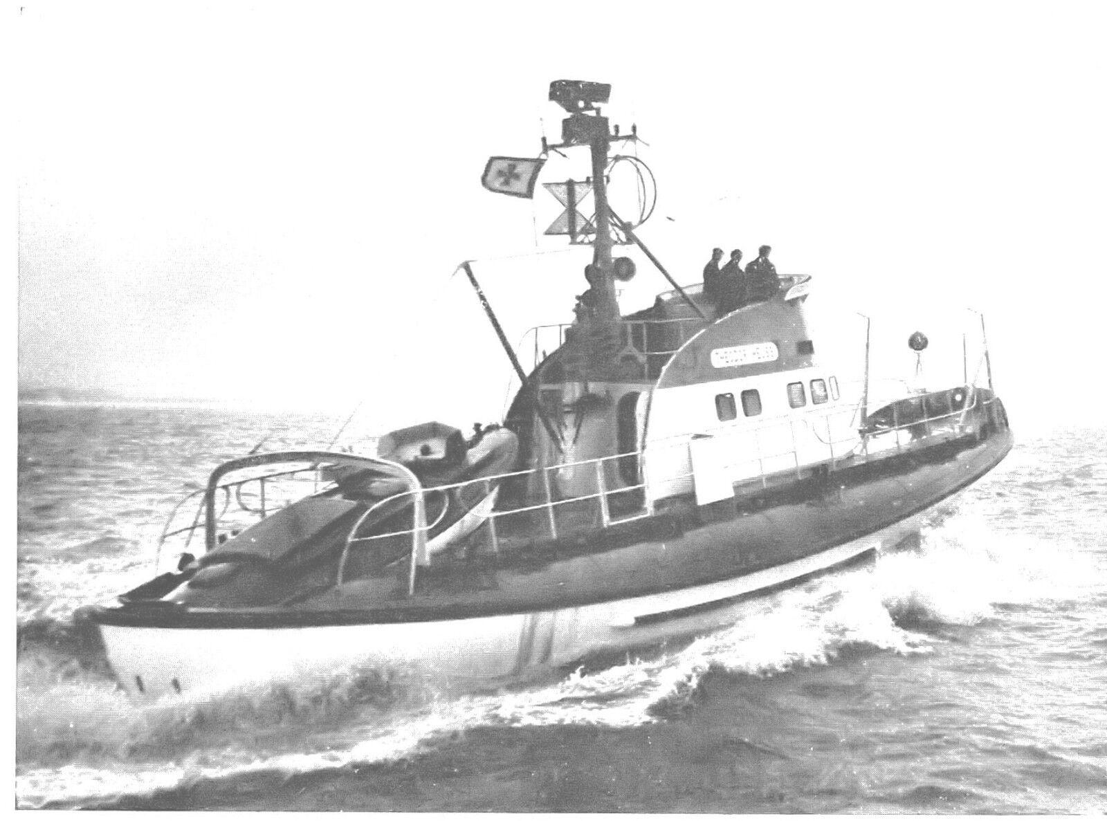 Schreiber-Bogen Seenotrettungskreuzer Theodor HeussPapiermodell Bausatz