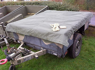 genuine land rover military sankey 3/4 ton trailer cover new