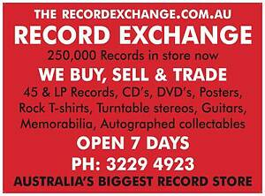Records,vinyl,Guitars,cd,s,Stereo,Turntables,Buy,Sell,Trade,7days Brisbane North East Preview