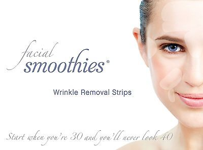 FACIAL SMOOTHIES Anti Wrinkle Patches - NEW Larger Template!