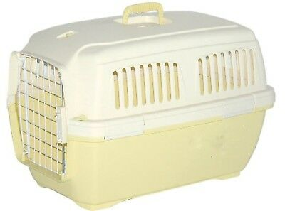 NEW Marchioro Clipper 2 Cayman Pet Carrier 9-33 lbs TAN/YELLOW Dog/Cat Kennel ()
