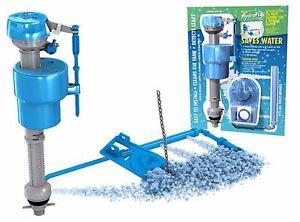 toilet fill valve flapper complete repair kit tank drain flushing replacement