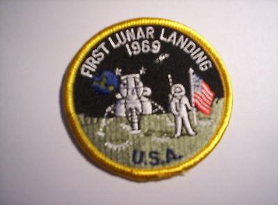 Aufnäher  First Lunar Landing 1969   USA