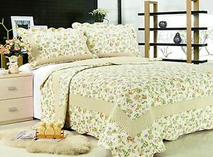 66-All-For-You-3PC-quilt-set-bedspread-and-coverlet-4-Sizes-available