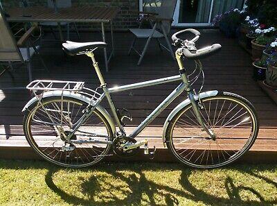 Dawes Karakum Touring bike, good condition, 20 inch frame, Blue / Silver