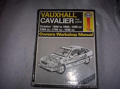 haynes workshop manual cavalier 1988 - 1990