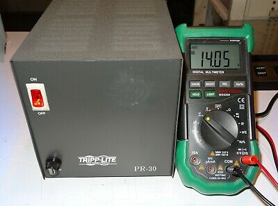 Tripp-lite Pr-30 Precision Regulated Power Supply 13.8v 30 Amp