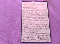 Carta De Pierre-amable Floquet, Mormandia, Normandie, 2h, 20x15, Raro, 1862 - norma - ebay.es