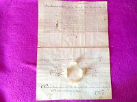 D. Titulo, Real Notario Publico De España, Rey Fernando Vii, 1819, F Feu Y Ancio -  - ebay.es
