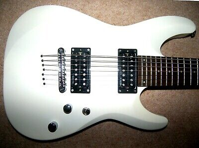 Schecter Diamond Series C-7  , 7 String Deluxe Electric Guitar , Satin White.