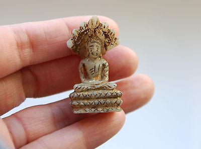 *** Allerfeinste Darstellung eines ANTIKEN Buddhas aus MARMOR !! ***